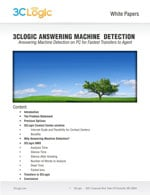 3CLogic Answering Machine Detection White Paper Image