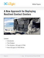 A New Approach for Deploying Resilient Contact Centers White Paper Image