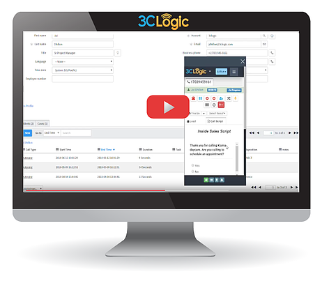 3clogic S Inbound Software Demo