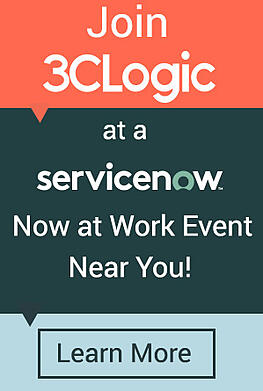3CLogic Now at Work Events ITSM