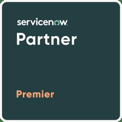 ServiceNow Premier Parner Badge