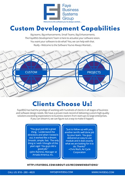 Faye Business Systems Group eBook