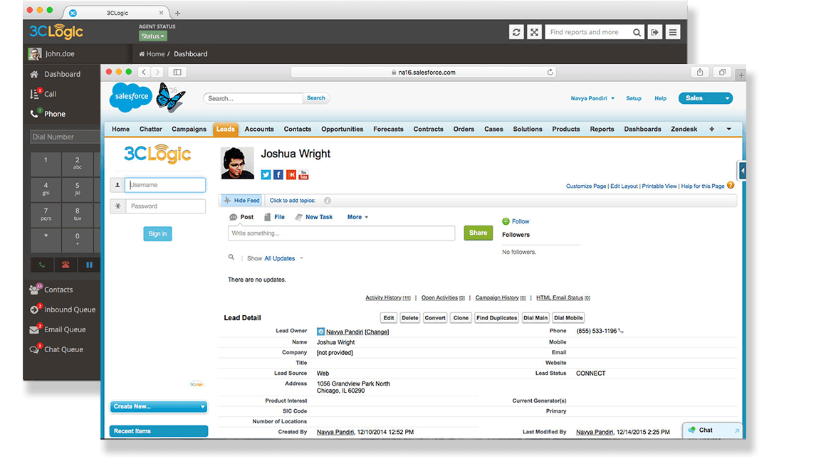 3CLogic and Salesforce Integration
