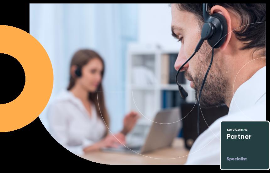 Customer Service Management Banner Image