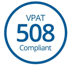 Voluntary Product Accessibility Template (VPAT) Section 508
